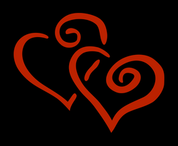 2 hearts Icons PNG - Free PNG and Icons Downloads