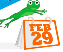 2016 clipart leap year