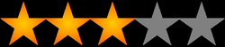 3 star rating png