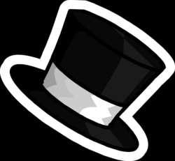 drawing penguins top hat