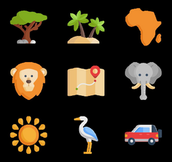 11 africa icon packs - Vector icon packs - SVG, PSD, PNG, EPS & Icon ...