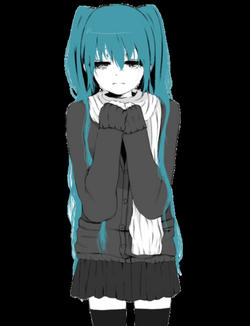 Miku cry ;-; shared by Yuuki on We Heart It