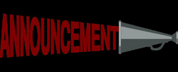announcement clipart upcoming event