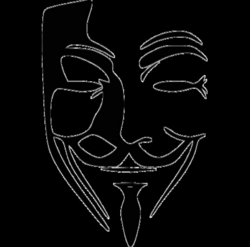 anonymous maske png