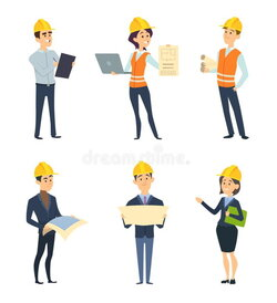 architect clipart engineering team