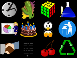 four clipart few