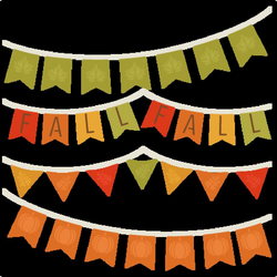 Fall Banners SVG cutting file for scrapbooking autumn svg cut files ...