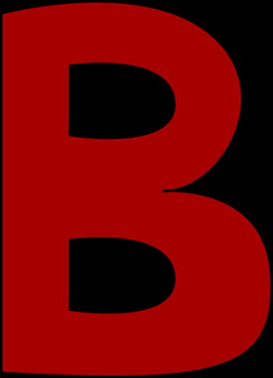 Large B Clipart