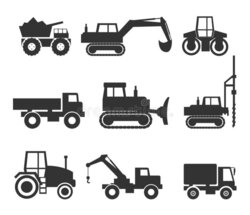 backhoe clipart construction equipment