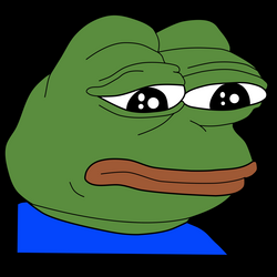 Sad Frog / Feels Bad Man - Meme Icons PNG - Free PNG and Icons Downloads