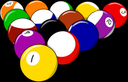 ball clipart pool table