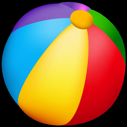 beachball clipart different ball