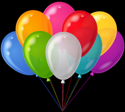 Colorful Balloon Clipart