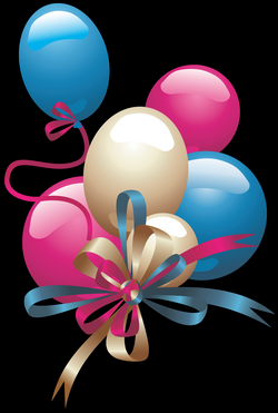 Balloons PNG Clipart | Childs Birthday/Birth | Pinterest | Cards