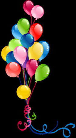 Transparent Bunch Balloons Clipart   Gallery Yopriceville - High ...