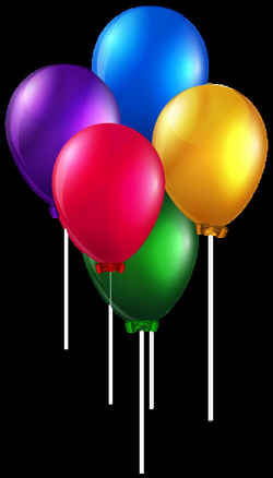 Colorful Balloons PNG Clip Art Image | Transparent Backgrounds ...