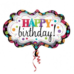 Happy Birthday Balloons Clipart | Free Images at Clker.com - vector ...