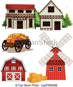barn clipart farm shed