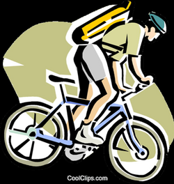 cycling clipart mountain bike