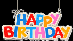 1st Birthday Transparent Background PNG - peoplepng.com