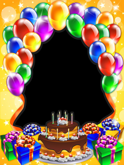 Happy Birthday Transparent PNG Frame | Gallery Yopriceville - High ...