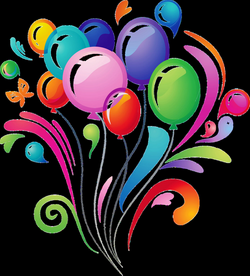Happy Birthday Balloons PNG Transparent Images   PNG All