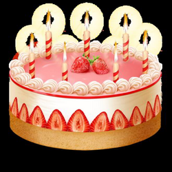 Birthday Cake With Candles Png Picture 1819549 Birthday Cake With
