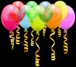 Colorful Balloon Bunch PNG Clipart Image | HAPPY BIRTHDAY ...