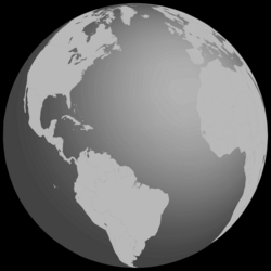 Grayscale Earth Globe Icons PNG - Free PNG and Icons Downloads