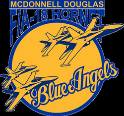 blue angels decals png