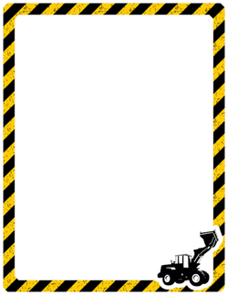 construction clipart banner