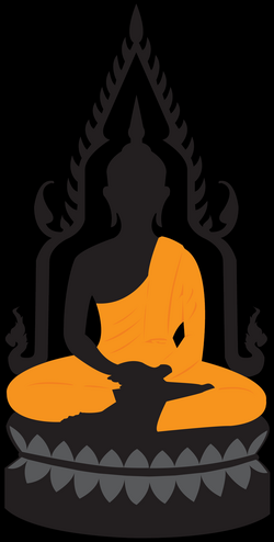 Buddha Lotus Statue PNG Clip Art - Best WEB Clipart
