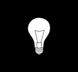 bulb drawing detailed
