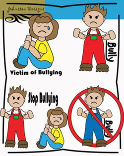 Free Bullying Clipart by Johnston Digital Designs | TpT