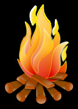 Animated Campfire Clipart