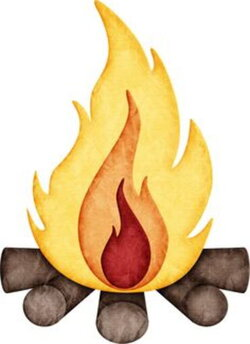 campfire clipart interesting