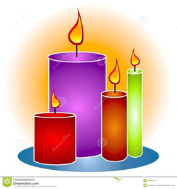 candles clipart 5 candle