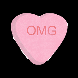 candy hearts animation