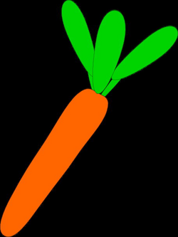 Carrot Silhouette at GetDrawings.com | Free for personal use Carrot ...