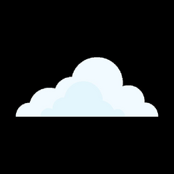 Cloud cartoon 11 - Transparent PNG & SVG vector