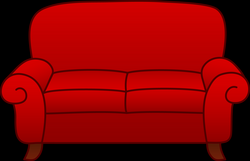 couch clipart png