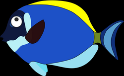 blue cartoon fish Icons PNG - Free PNG and Icons Downloads