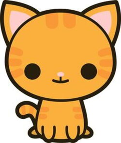 cat clip art kawaii