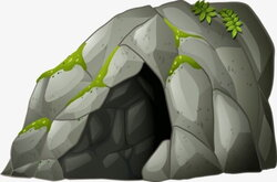 cave clipart stone age cave