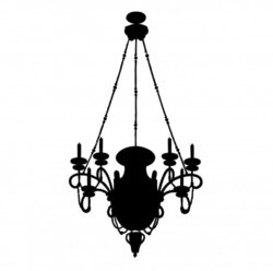 chandelier clipart ceiling light
