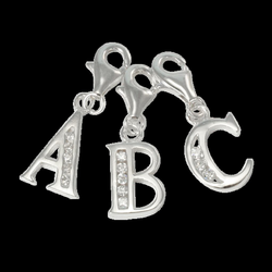charms clip sterling silver