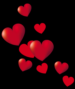 Hearts PNG Picture | Gallery Yopriceville - High-Quality Images and ...