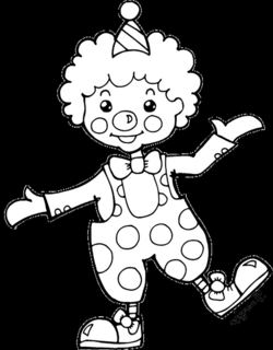 Simple Clown Drawing at GetDrawings.com | Free for personal use ...