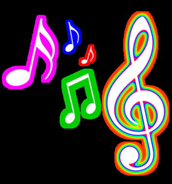 Colorful Musical Notes Png | Clipart Panda - Free Clipart Images