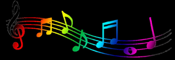 28+ Collection of Music Notes Colorful Clipart | High quality, free ...